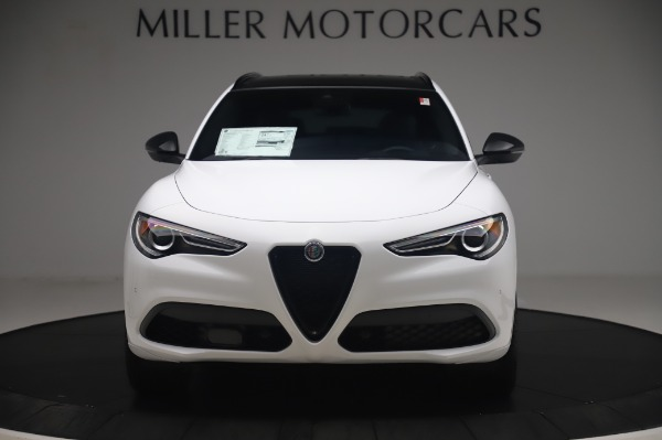 New 2020 Alfa Romeo Stelvio Ti Sport Q4 for sale $56,495 at Rolls-Royce Motor Cars Greenwich in Greenwich CT 06830 12