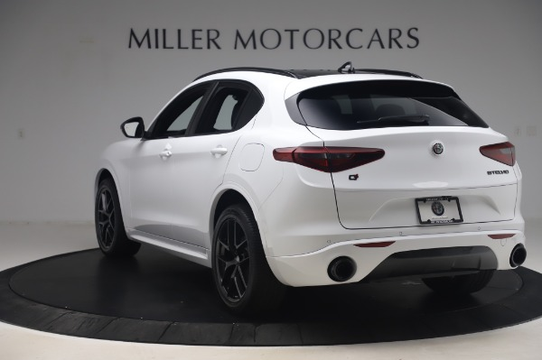 New 2020 Alfa Romeo Stelvio Ti Sport Q4 for sale $56,495 at Rolls-Royce Motor Cars Greenwich in Greenwich CT 06830 5