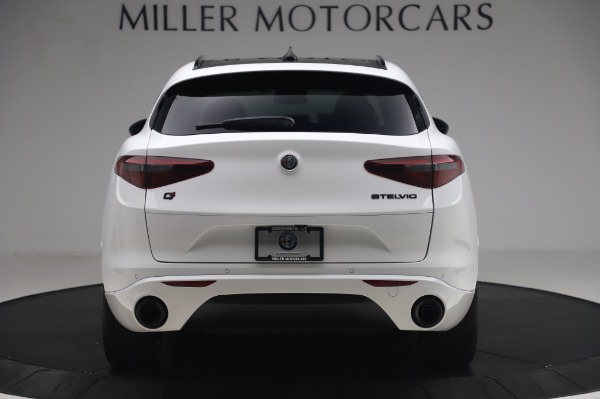 New 2020 Alfa Romeo Stelvio Ti Sport Q4 for sale $56,495 at Rolls-Royce Motor Cars Greenwich in Greenwich CT 06830 6