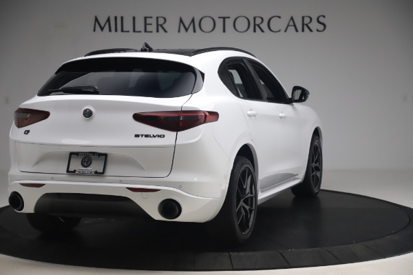 New 2020 Alfa Romeo Stelvio Ti Sport Q4 for sale $56,495 at Rolls-Royce Motor Cars Greenwich in Greenwich CT 06830 7