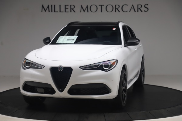 New 2020 Alfa Romeo Stelvio Ti Sport Q4 for sale $56,495 at Rolls-Royce Motor Cars Greenwich in Greenwich CT 06830 1