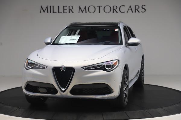 New 2020 Alfa Romeo Stelvio Ti Lusso Q4 for sale $54,145 at Rolls-Royce Motor Cars Greenwich in Greenwich CT 06830 1