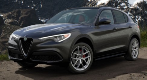 New 2020 Alfa Romeo Stelvio Ti Sport Q4 for sale $54,295 at Rolls-Royce Motor Cars Greenwich in Greenwich CT 06830 1