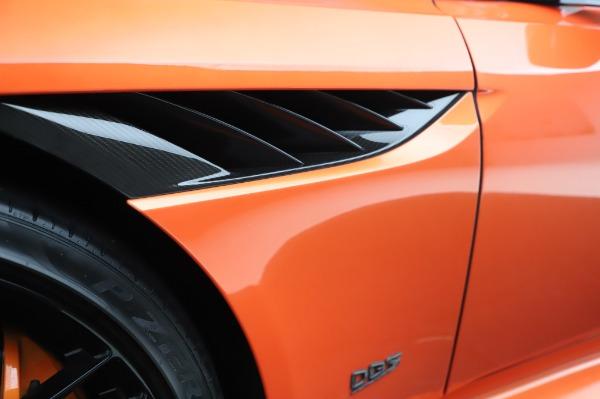 Used 2020 Aston Martin DBS Superleggera Volante for sale $339,800 at Rolls-Royce Motor Cars Greenwich in Greenwich CT 06830 28