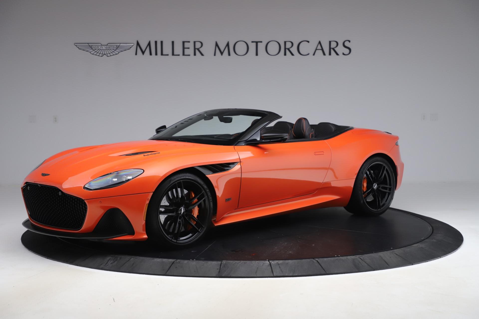 Used 2020 Aston Martin DBS Superleggera Volante for sale $339,800 at Rolls-Royce Motor Cars Greenwich in Greenwich CT 06830 1