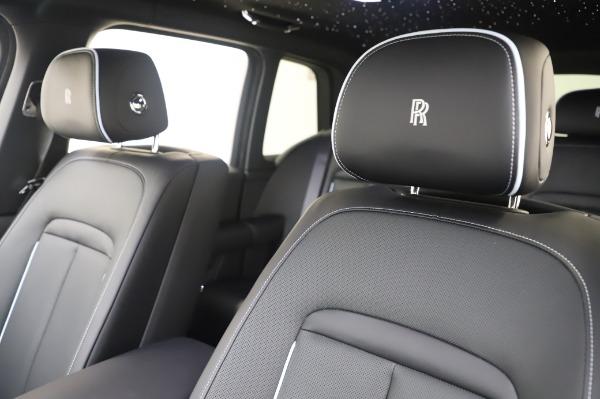 New 2021 Rolls-Royce Cullinan Base for sale $403,700 at Rolls-Royce Motor Cars Greenwich in Greenwich CT 06830 9