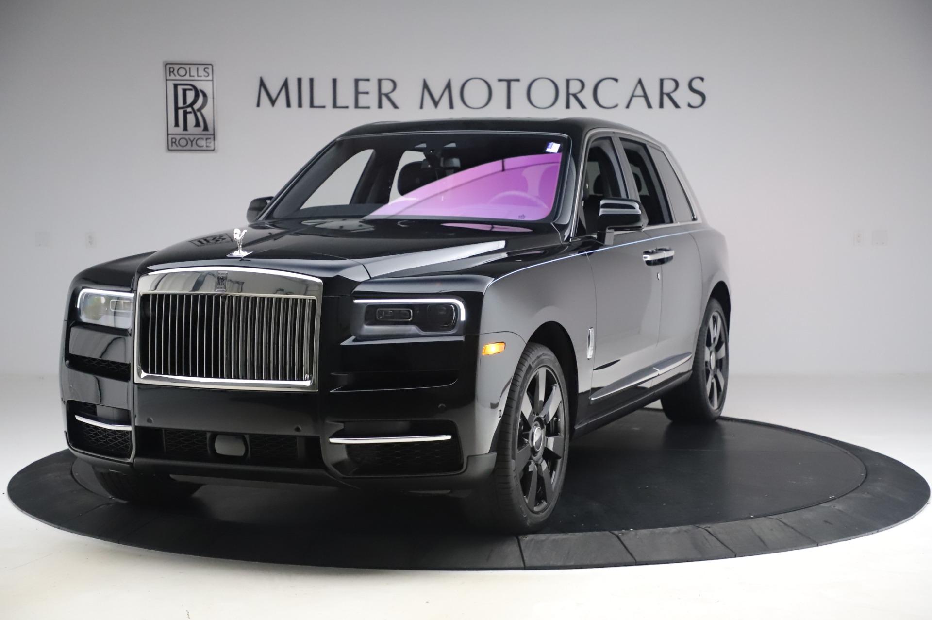 New 2021 Rolls-Royce Cullinan for sale Sold at Rolls-Royce Motor Cars Greenwich in Greenwich CT 06830 1