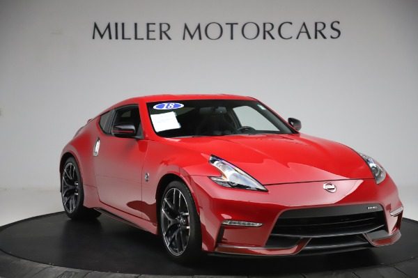 Used 2018 Nissan 370Z NISMO Tech for sale $39,900 at Rolls-Royce Motor Cars Greenwich in Greenwich CT 06830 9