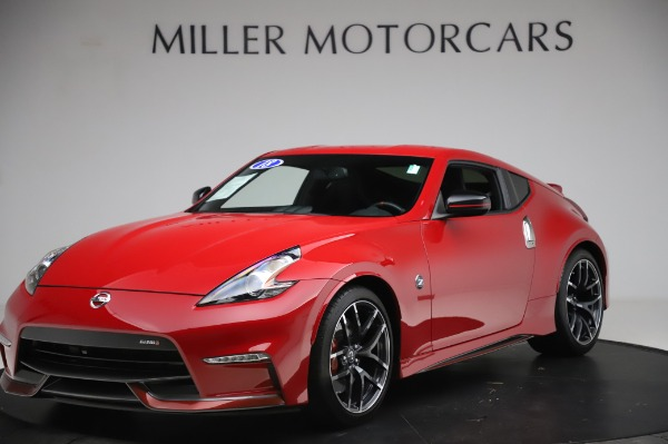 Used 2018 Nissan 370Z NISMO Tech for sale $39,900 at Rolls-Royce Motor Cars Greenwich in Greenwich CT 06830 1