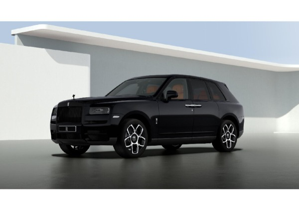 New 2021 Rolls-Royce Cullinan Black Badge for sale $433,225 at Rolls-Royce Motor Cars Greenwich in Greenwich CT 06830 1