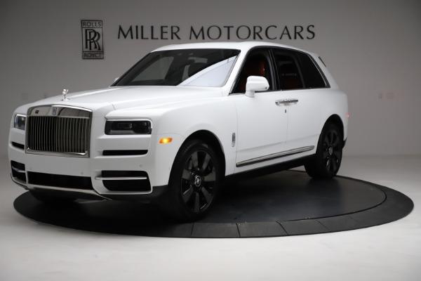 New 2021 Rolls-Royce Cullinan Base for sale $378,525 at Rolls-Royce Motor Cars Greenwich in Greenwich CT 06830 3