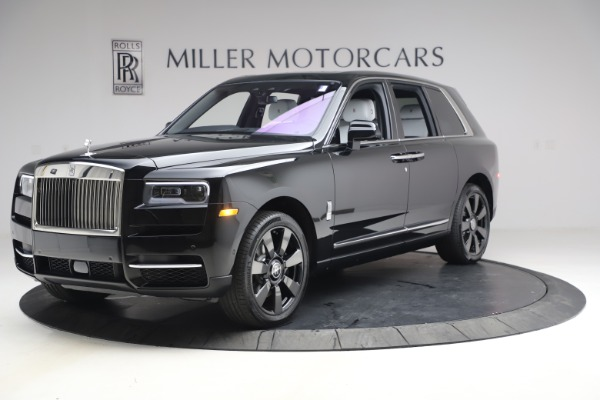 New 2021 Rolls-Royce Cullinan for sale $369,975 at Rolls-Royce Motor Cars Greenwich in Greenwich CT 06830 3