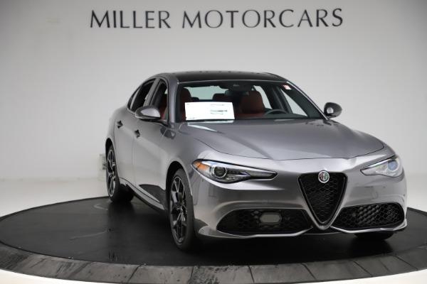 New 2020 Alfa Romeo Giulia Ti Sport Q4 for sale $48,595 at Rolls-Royce Motor Cars Greenwich in Greenwich CT 06830 11