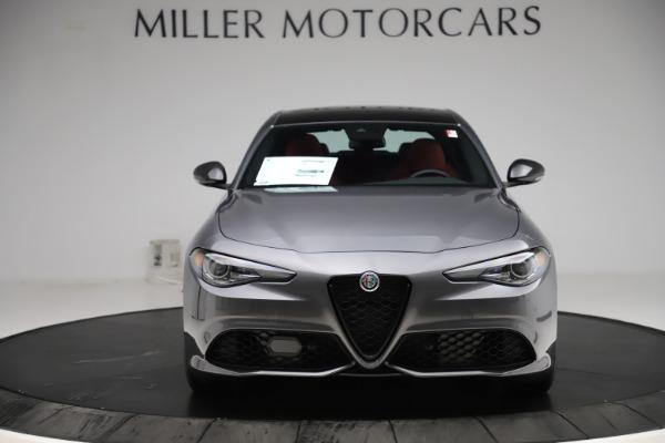 New 2020 Alfa Romeo Giulia Ti Sport Q4 for sale $48,595 at Rolls-Royce Motor Cars Greenwich in Greenwich CT 06830 12