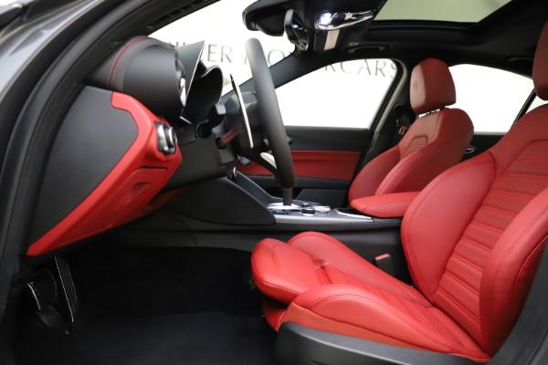 New 2020 Alfa Romeo Giulia Ti Sport Q4 for sale $48,595 at Rolls-Royce Motor Cars Greenwich in Greenwich CT 06830 14