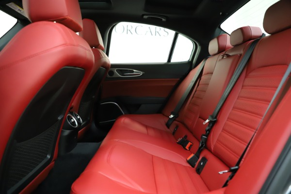 New 2020 Alfa Romeo Giulia Ti Sport Q4 for sale $48,595 at Rolls-Royce Motor Cars Greenwich in Greenwich CT 06830 19