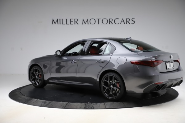 New 2020 Alfa Romeo Giulia Ti Sport Q4 for sale $48,595 at Rolls-Royce Motor Cars Greenwich in Greenwich CT 06830 4