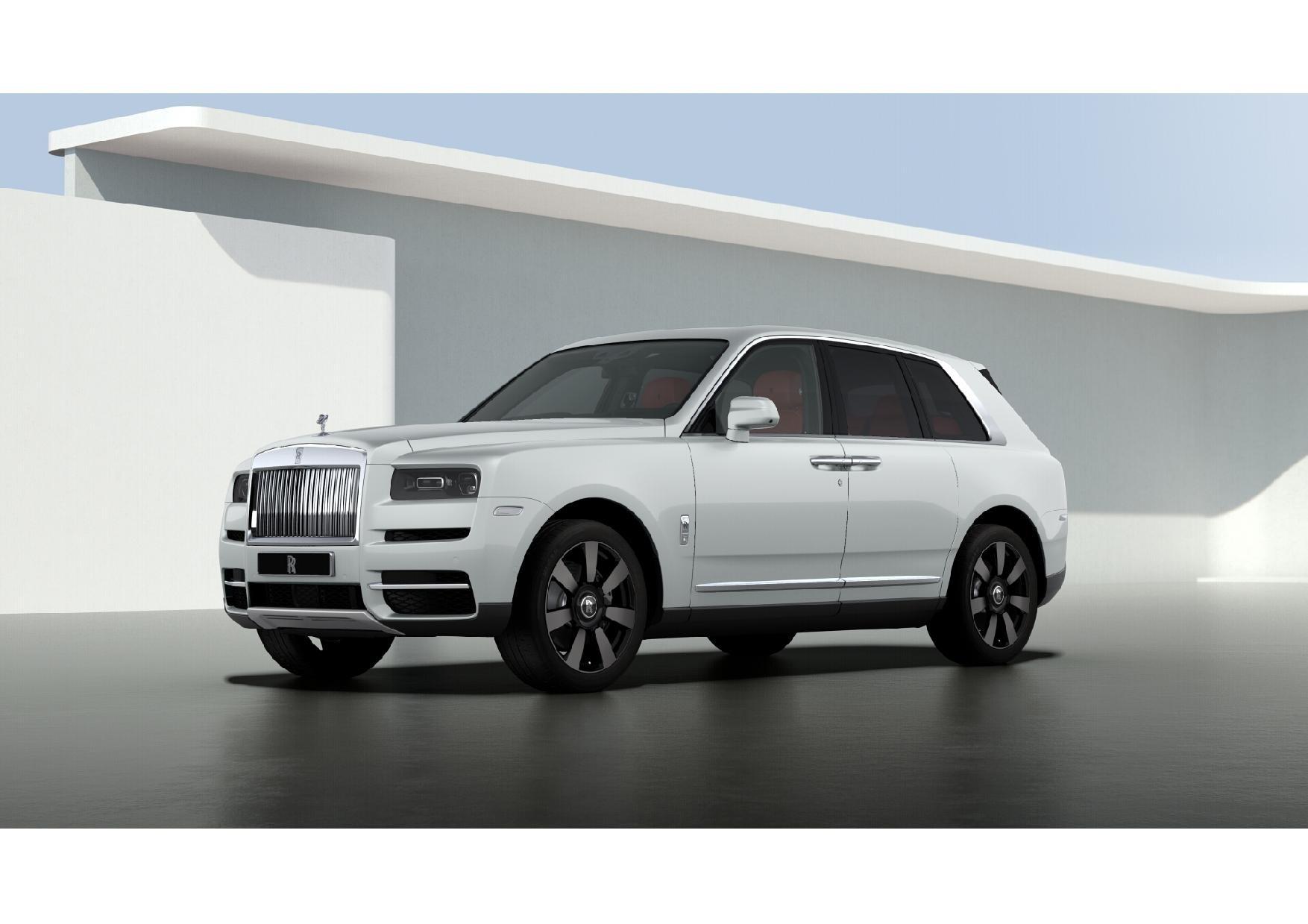 New 2021 Rolls-Royce Cullinan Base for sale $376,925 at Rolls-Royce Motor Cars Greenwich in Greenwich CT 06830 1