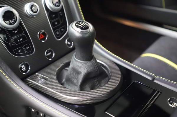 Used 2017 Aston Martin V12 Vantage S for sale $185,900 at Rolls-Royce Motor Cars Greenwich in Greenwich CT 06830 17