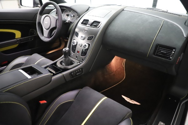 Used 2017 Aston Martin V12 Vantage S for sale $185,900 at Rolls-Royce Motor Cars Greenwich in Greenwich CT 06830 18