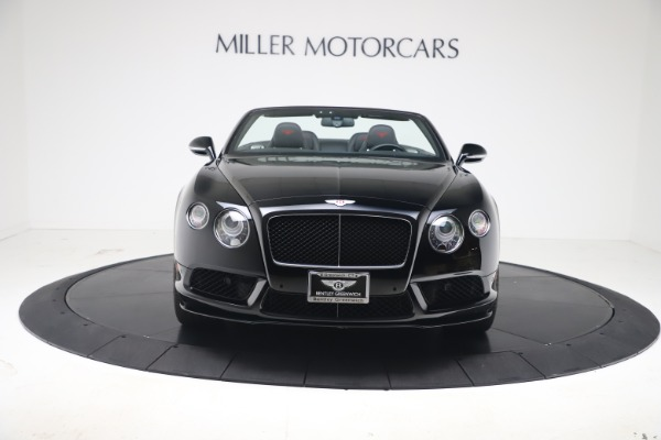 Used 2014 Bentley Continental GT Convertible V8 S for sale $109,900 at Rolls-Royce Motor Cars Greenwich in Greenwich CT 06830 10
