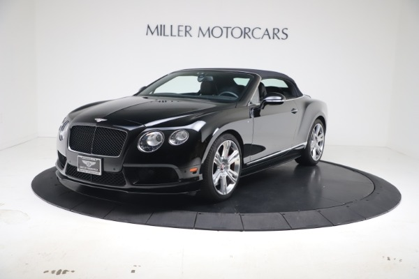 Used 2014 Bentley Continental GT Convertible V8 S for sale $109,900 at Rolls-Royce Motor Cars Greenwich in Greenwich CT 06830 11