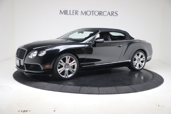 Used 2014 Bentley Continental GT Convertible V8 S for sale $109,900 at Rolls-Royce Motor Cars Greenwich in Greenwich CT 06830 12