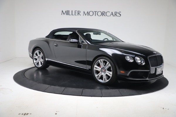 Used 2014 Bentley Continental GT Convertible V8 S for sale $109,900 at Rolls-Royce Motor Cars Greenwich in Greenwich CT 06830 18