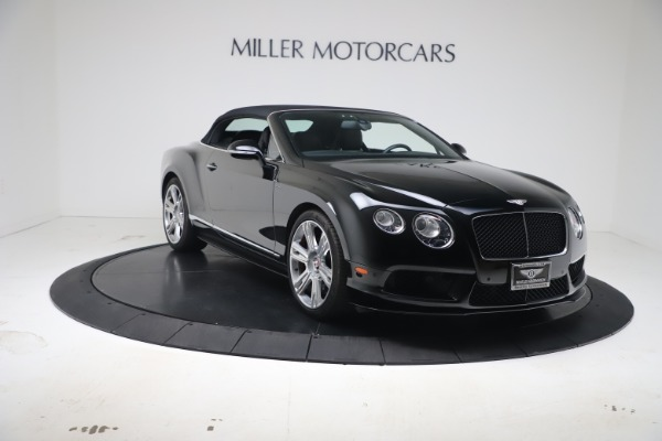 Used 2014 Bentley Continental GT Convertible V8 S for sale $109,900 at Rolls-Royce Motor Cars Greenwich in Greenwich CT 06830 19