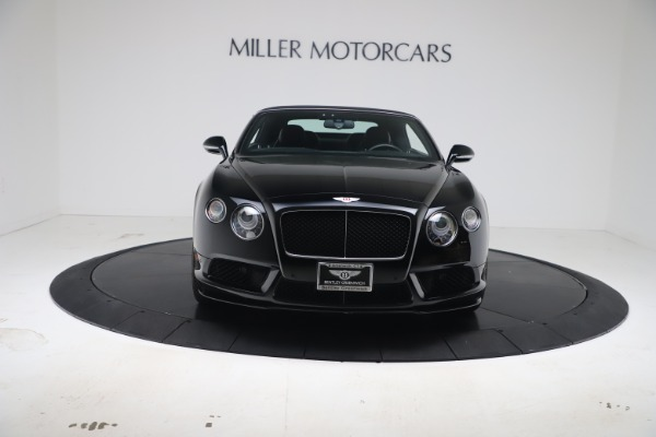 Used 2014 Bentley Continental GT Convertible V8 S for sale $109,900 at Rolls-Royce Motor Cars Greenwich in Greenwich CT 06830 20