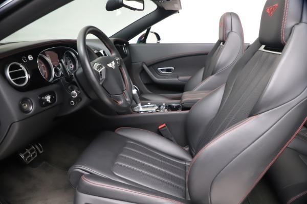 Used 2014 Bentley Continental GT Convertible V8 S for sale $109,900 at Rolls-Royce Motor Cars Greenwich in Greenwich CT 06830 25