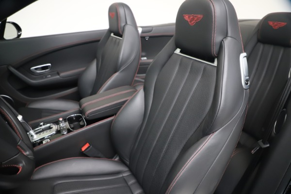 Used 2014 Bentley Continental GT Convertible V8 S for sale $109,900 at Rolls-Royce Motor Cars Greenwich in Greenwich CT 06830 26