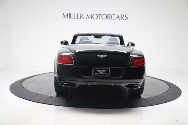 Used 2014 Bentley Continental GT Convertible V8 S for sale $109,900 at Rolls-Royce Motor Cars Greenwich in Greenwich CT 06830 5
