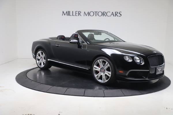 Used 2014 Bentley Continental GT Convertible V8 S for sale $109,900 at Rolls-Royce Motor Cars Greenwich in Greenwich CT 06830 9