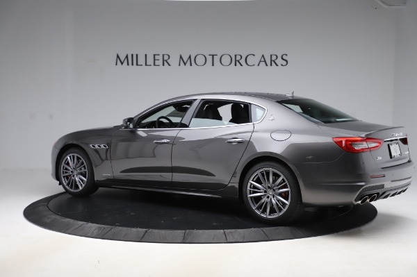 New 2020 Maserati Quattroporte S Q4 GranSport for sale $125,085 at Rolls-Royce Motor Cars Greenwich in Greenwich CT 06830 4