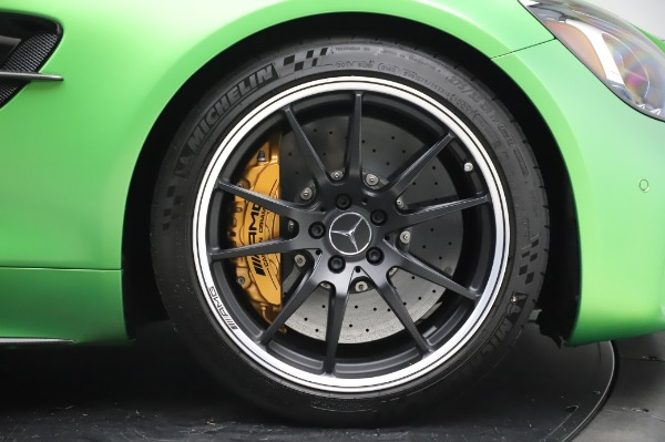 Used 2019 Mercedes-Benz AMG GT R for sale $155,900 at Rolls-Royce Motor Cars Greenwich in Greenwich CT 06830 23