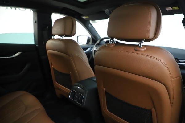 Used 2017 Maserati Levante Q4 for sale $51,900 at Rolls-Royce Motor Cars Greenwich in Greenwich CT 06830 26