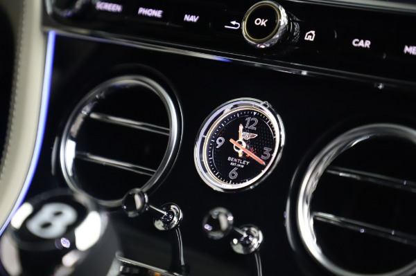 Used 2020 Bentley Continental GT V8 First Edition for sale $259,900 at Rolls-Royce Motor Cars Greenwich in Greenwich CT 06830 26