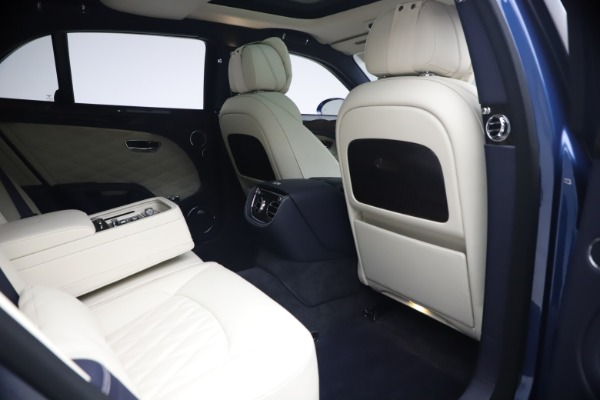 Used 2020 Bentley Mulsanne Speed for sale $279,900 at Rolls-Royce Motor Cars Greenwich in Greenwich CT 06830 27