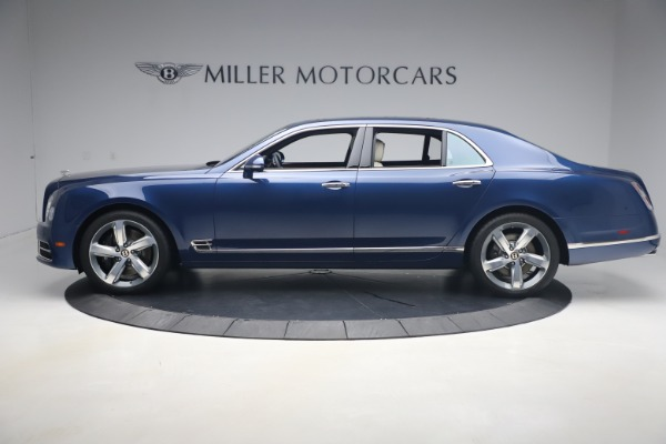 Used 2020 Bentley Mulsanne Speed for sale $279,900 at Rolls-Royce Motor Cars Greenwich in Greenwich CT 06830 3