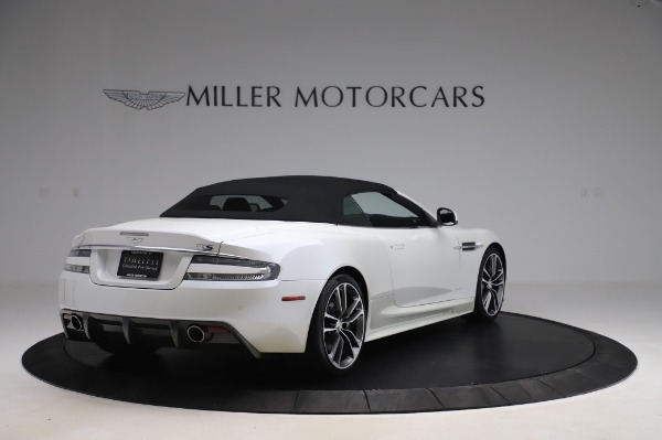 Used 2010 Aston Martin DBS Volante for sale $104,900 at Rolls-Royce Motor Cars Greenwich in Greenwich CT 06830 16
