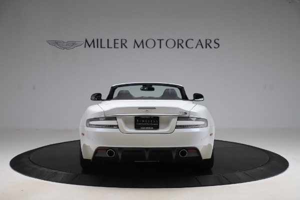 Used 2010 Aston Martin DBS Volante for sale $89,900 at Rolls-Royce Motor Cars Greenwich in Greenwich CT 06830 5