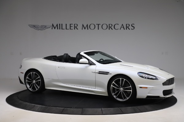 Used 2010 Aston Martin DBS Volante for sale $104,900 at Rolls-Royce Motor Cars Greenwich in Greenwich CT 06830 9