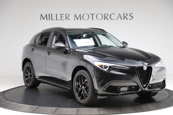 New 2020 Alfa Romeo Stelvio Ti Q4 for sale $52,445 at Rolls-Royce Motor Cars Greenwich in Greenwich CT 06830 11