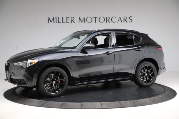 New 2020 Alfa Romeo Stelvio Ti Q4 for sale $52,445 at Rolls-Royce Motor Cars Greenwich in Greenwich CT 06830 2