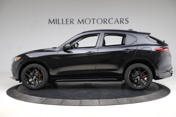 New 2020 Alfa Romeo Stelvio Ti Q4 for sale $52,445 at Rolls-Royce Motor Cars Greenwich in Greenwich CT 06830 3