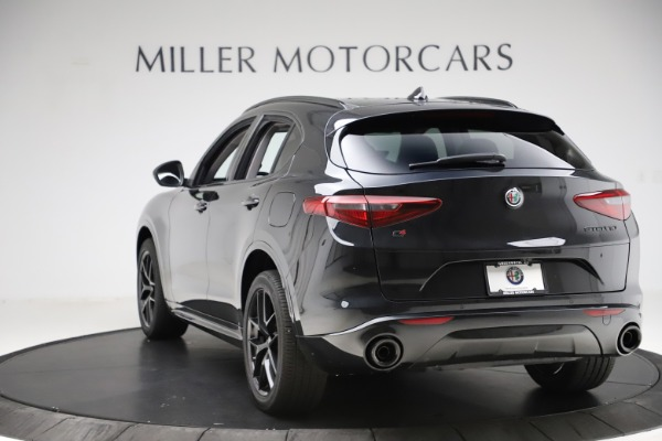 New 2020 Alfa Romeo Stelvio Ti Q4 for sale $52,445 at Rolls-Royce Motor Cars Greenwich in Greenwich CT 06830 5