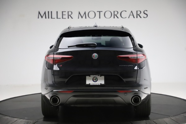 New 2020 Alfa Romeo Stelvio Ti Q4 for sale $52,445 at Rolls-Royce Motor Cars Greenwich in Greenwich CT 06830 6
