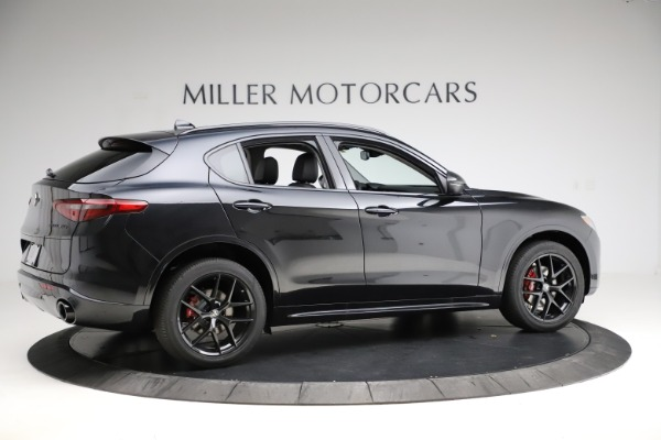 New 2020 Alfa Romeo Stelvio Ti Q4 for sale $52,445 at Rolls-Royce Motor Cars Greenwich in Greenwich CT 06830 8