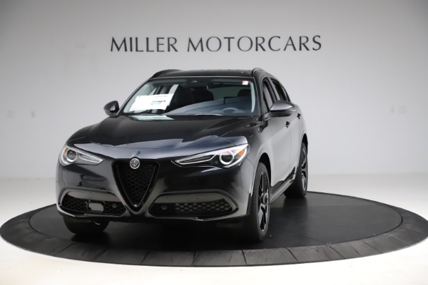 New 2020 Alfa Romeo Stelvio Ti Q4 for sale $52,445 at Rolls-Royce Motor Cars Greenwich in Greenwich CT 06830 1